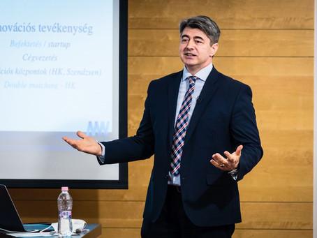 A Szenátus és a fenntartó alapítvány egységesen támogatta prof. dr. Baranyi Péter rektori pályázatát