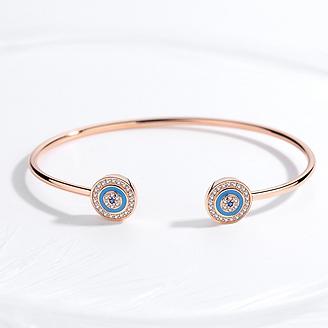 925-sterling-silver-evil-eye-bracelets-bangles-good-blue-eye-zircon-wholesale-jewelry-lots