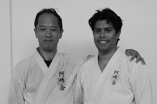 Minoru Akuzawa (left) & Rex Romero)
