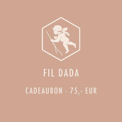 Cadeaubon 75,-EUR