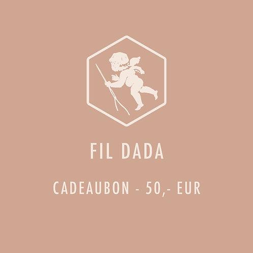 Cadeaubon 50,-EUR
