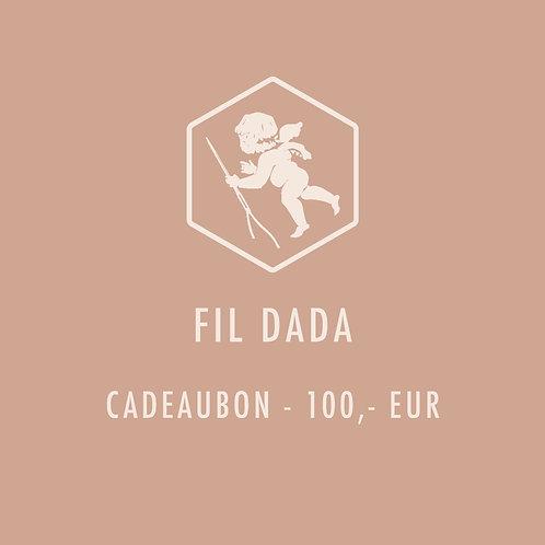 Cadeaubon 100,-EUR