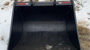 WBM CLEAN UP BUCKET TO FIT A 650-750 EXCAVATOR