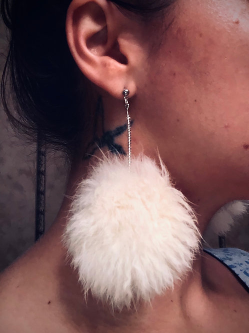 Surrealistic Pillow Earrings