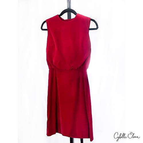 Red Velvet Cocktail Dress