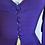 Thumbnail: 1940s Silk Peplum Blazer Blouse