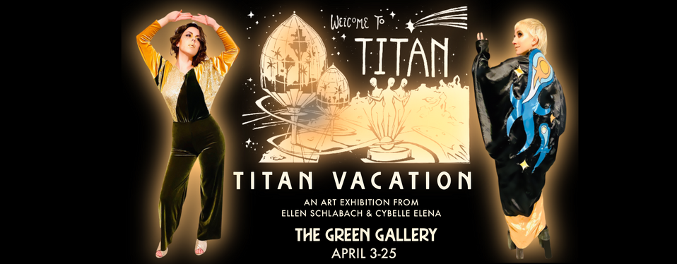 TITAN VACATION: JETSET IN STYLE TO THE GALAXY'S MOST NOTORIOUS PARTY MOON.