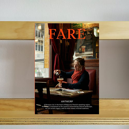 Fare Magazine - Issue 7 Antwerp - Reading Room