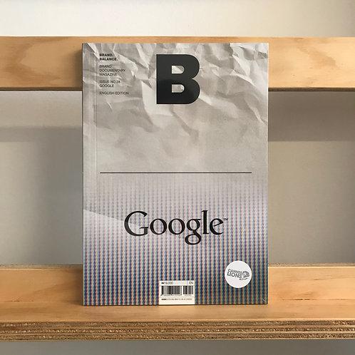 B Magazine - Google Issue - Reading Room