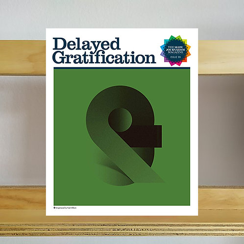 Delayed Gratification Magazine - Issue 39 - Reading Room