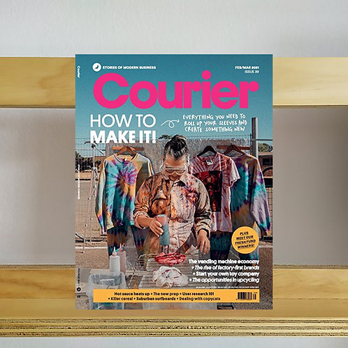 Courier Magazine - Issue 39 - Reading Room