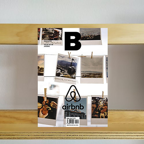Magazine B Brand Balance - Airbnb. Issue - Reading Room