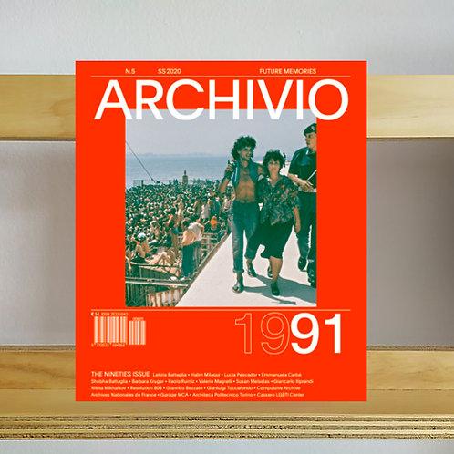 Archivio Magazine - Issue 5 - Reading Room