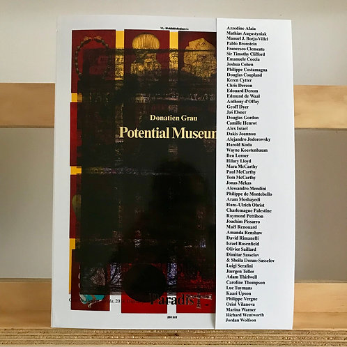 Paradis Magazine - Issue 7 Potential Museums - Reading Room