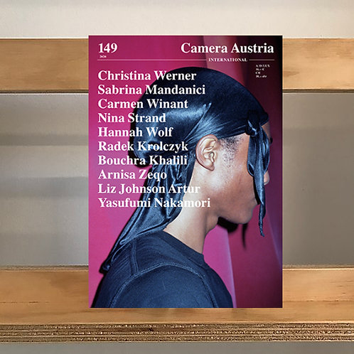 Camera Austria Magazine - Issue 149 - Reading Room