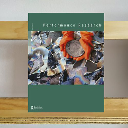 Performance Research Magazine - Volume 25 Issue 2 - Reading Room