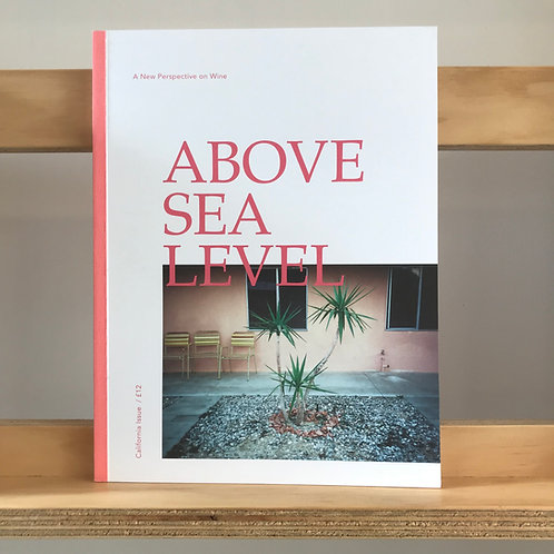 Above Sea Level Magazine - California Issue - Reading Room