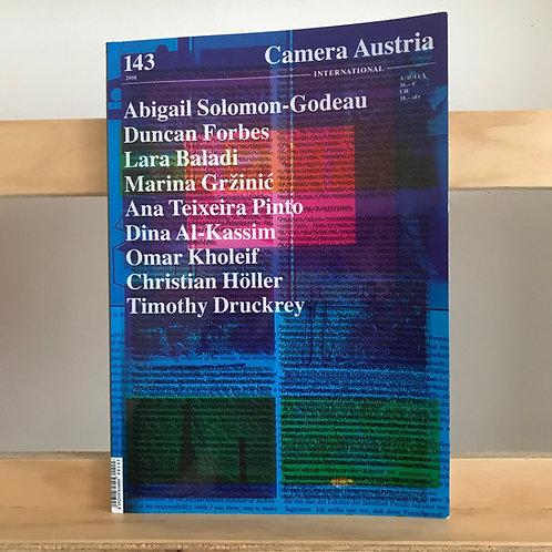 Camera Austria Magazine - Issue 143