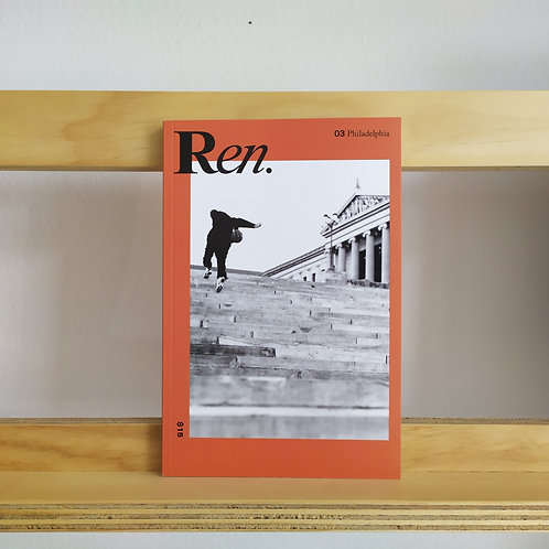 Ren. Magazine issue 4 Reading Room