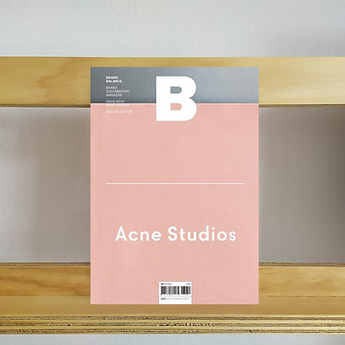 Magazine B Brand Balance - Acne Studios Issue - Reading Room