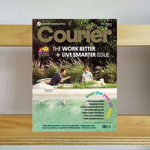 Courier Magazine - Issue 38 - Reading Room