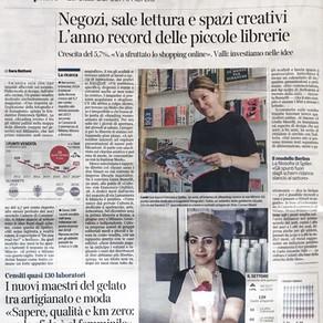 Corriere Milano | Negozi, sale letture e spazi creativi - L'anno record delle piccole librerie
