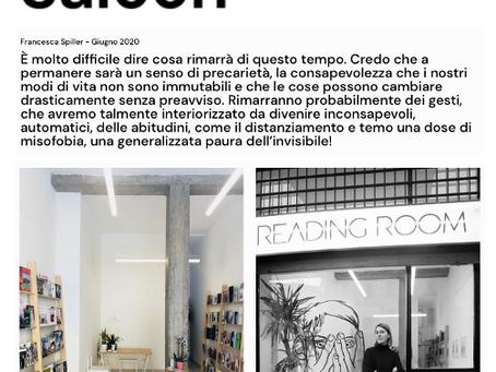 Saloon Milano | Intervista informale