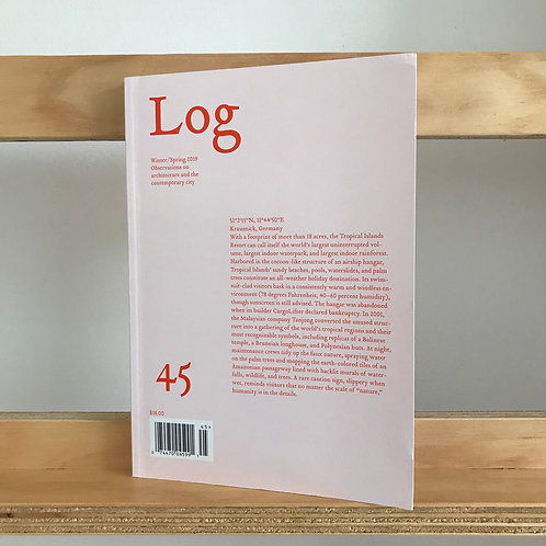 Log Magazine - Issue 45 - Reading Room