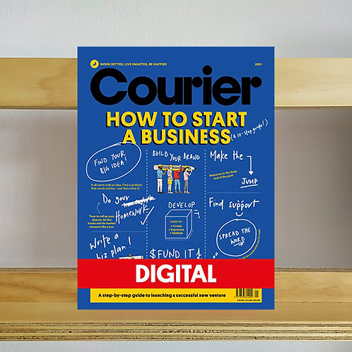 Courier Magazine - How To Start A Business - Reading Room