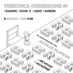 Periodica Ossessione #1   Achille Filipponi (Archivio)