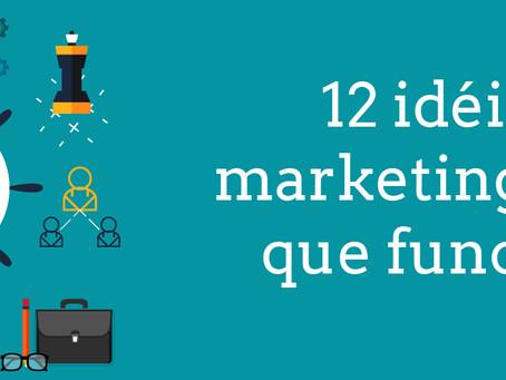 12 ideias de marketing baratas que funcionam
