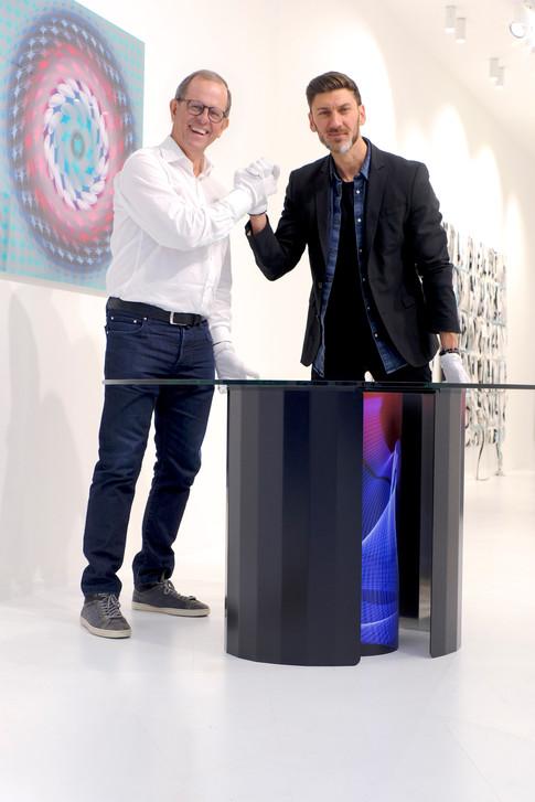 Portrait Yves Ullens & Gauthier Poulain