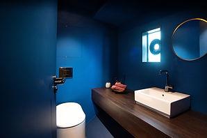 Badezimmer im Hausboot Cruising Home