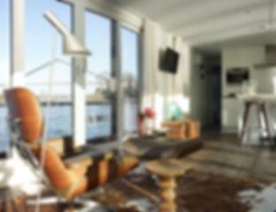 Traveller L Hausboot Wohnzimmer