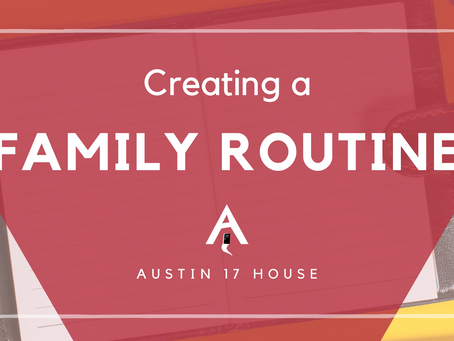 Creating A Family Routine