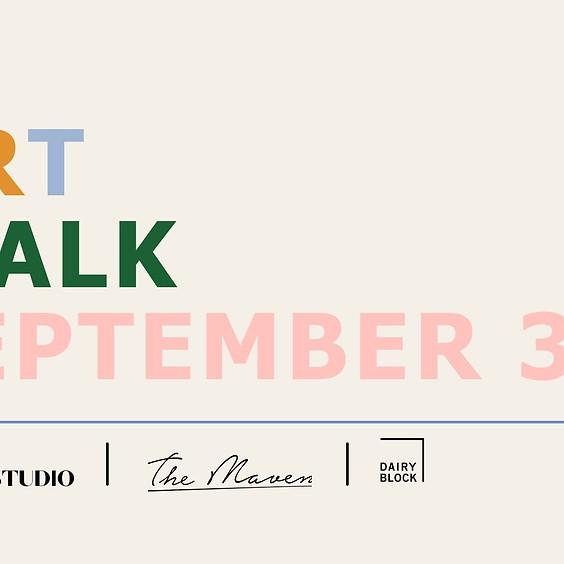 September 3rd Art Walk