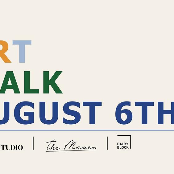 August 6th Art Walk