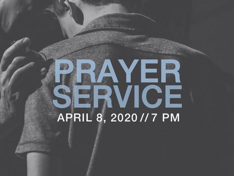 4/8/2020: Prayer Meeting