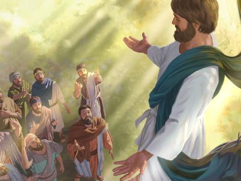 For Kids: Jesus Rises to Heaven