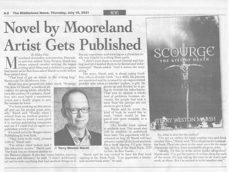 Novel by Mooreland Artist Gets Published