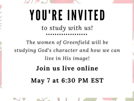 5/7/20: Women's Bible Study