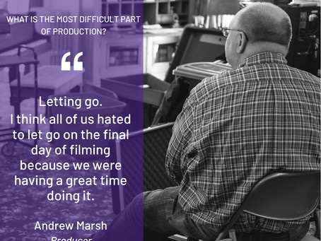 Producer Andrew Marsh on Production Week