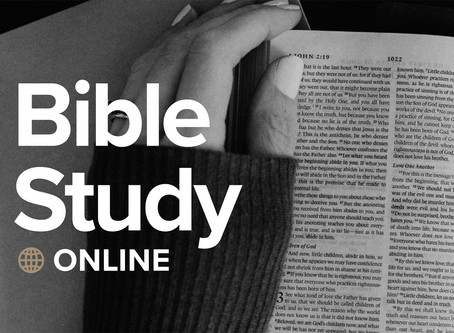 5/6/20: Bible Study and Announcement