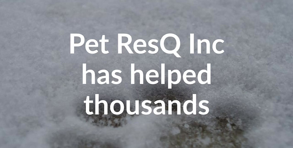 How to help Pet ResQ Inc