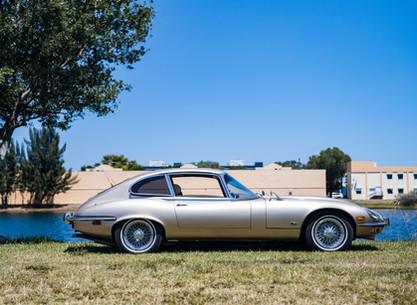 Jaguar E Type V12 Overview
