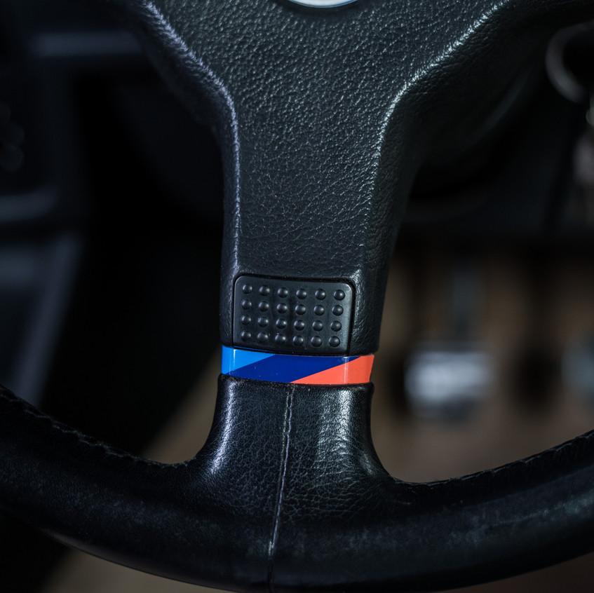 Mtech 1 Steering wheel