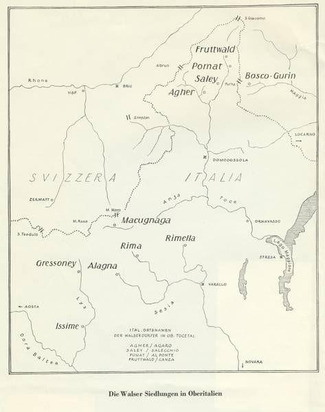Walser Siedlungen in Oberitalien Karte.j