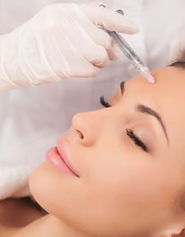 BOTOX® Cosmetic and Dysport are prescription medicines that are injected into muscles and used to improve the look of both moderate to severe crow's feet lines and frown lines between the eyebrows. The result: smooth, youhful looking skin!