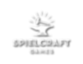 Spielcraft Games Logo - White Dropshadow