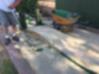 28Caribbean Greens Prepping Concrete Sla